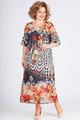 Платье Ксения Стиль 1756 терракот, размер