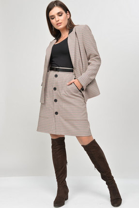Комплект юбочный MALI 770 серый