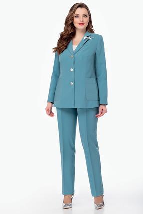 Комплект брючный Мишель стиль 804 голубой