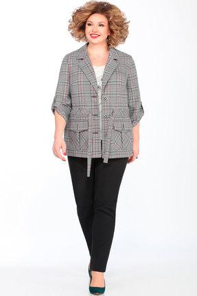 женский брючный костюм matini, серый