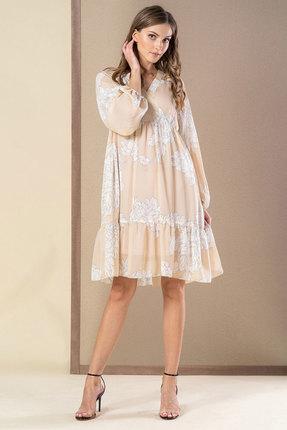 Платье Deesses 1033 бежевый