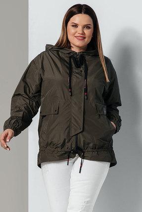 Куртка Olegran 593 темные тона