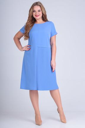 Платье SandyNa 13560 голубой