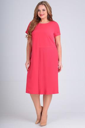 Платье SandyNa 13560 коралловый