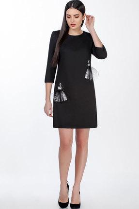 Платье Теллура-Л 1485 чёрный