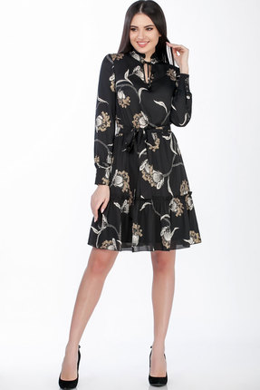 Платье Теллура-Л 1483 чёрный