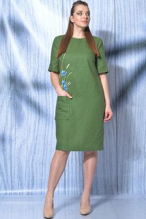 Платье MALI 419-014 зелёный