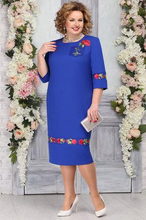 Платье Ninele 5769 василёк