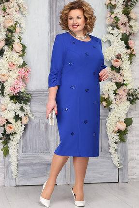 Платье Ninele 7273 василёк