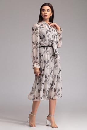 Платье Gizart 7291-4 светлые тона