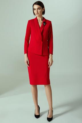 Комплект юбочный Denissa Fashion 1290 красный