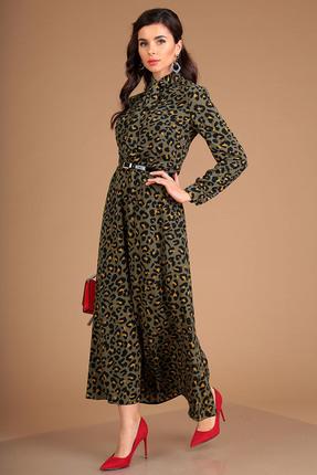 Платье Мода-Юрс 2524 зеленый