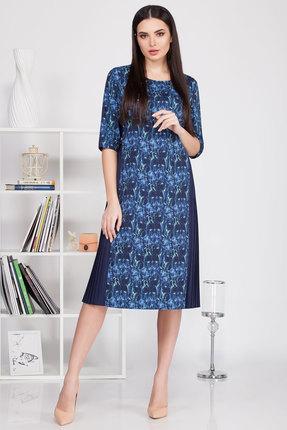 Платье Ivelta plus 1676 синий