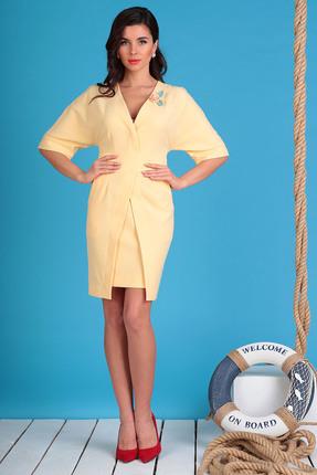 Платье Мода-Юрс 2334 персиковый