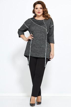 Комплект брючный Mira Fashion 4775 чёрный