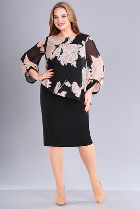 Платье FoxyFox 170 черный с пудрой