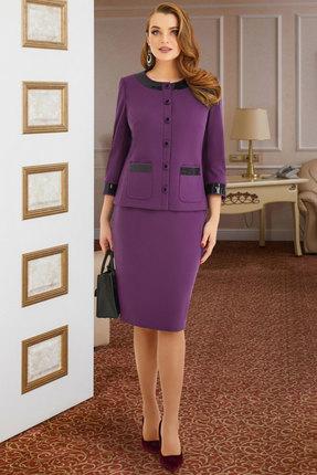 Комплект юбочный Lissana 3950 темно-лиловый