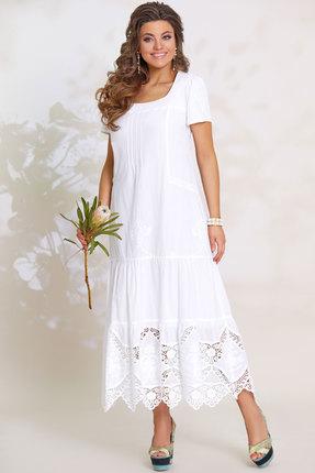 женское вечерние платье vittoria queen, белое