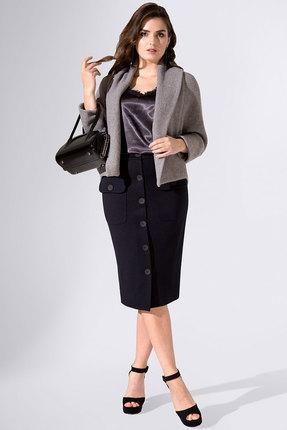 Комплект юбочный Avanti Erika 947 черно-серый