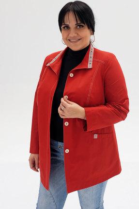 женская куртка bugalux, красная