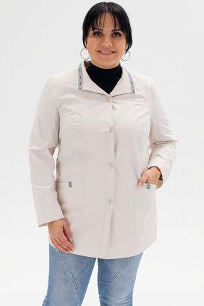 женская куртка bugalux, молочная