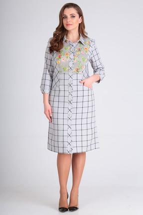 женское повседневные платье anastasia mak, серое