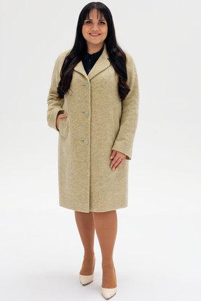 женское пальто bugalux, бежевое