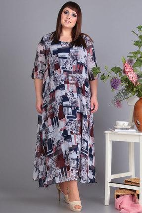 Платье Algranda 3176-Б мультиколор