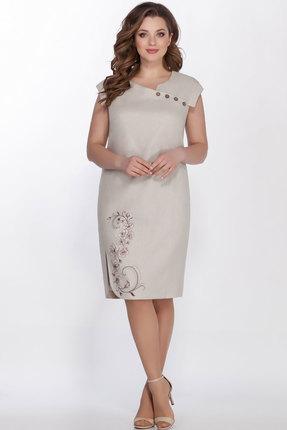 женское повседневные платье lakona, песочное