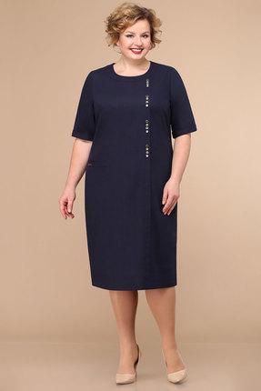 Платье Линия-Л Б-1792 чернильный