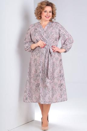 женское повседневные платье milana, розовое