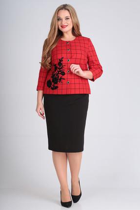 Комплект юбочный Anastasia Mak 697 красный
