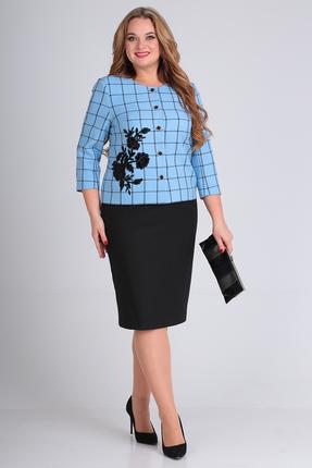 Комплект юбочный Anastasia Mak 697 голубой