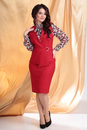 Комплект юбочный Мода-Юрс 2538 красный