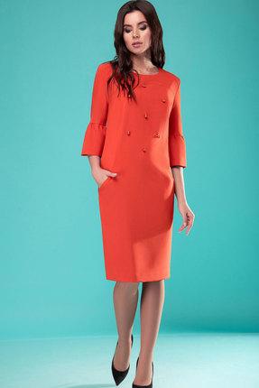 Платье Nadin-N 1772.1 оранжевый