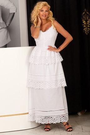 Платье Vesnaletto 2224-2 белый