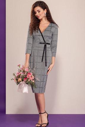 женское платье для офиса dilanavip, серое