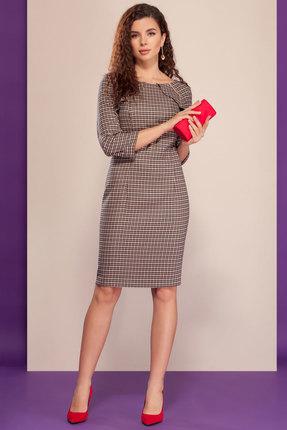 женское платье в клетку dilanavip
