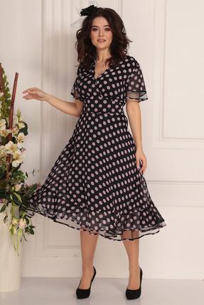 Платье Solomeya Lux 685-2 темный с пудрой