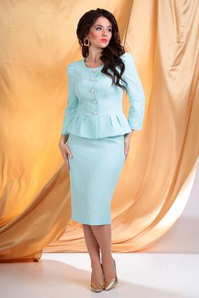 Комплект юбочный Мода-Юрс 2327 мятный