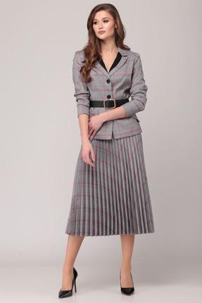 Комплект юбочный Verita Moda 2020 серые тона