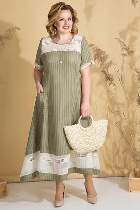 Платье Лилиана 812 фисташковый