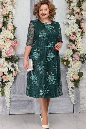 Платье Ninele 5772 изумруд