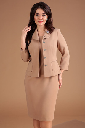 Комплект юбочный Мода-Юрс 2370 бежевый