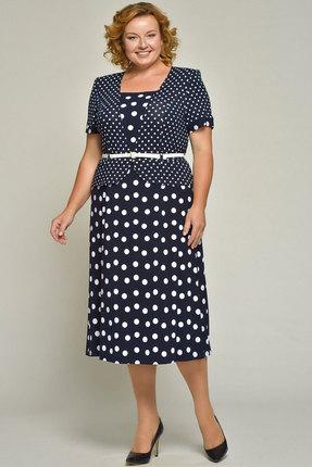 женское повседневные платье медея и к, синее