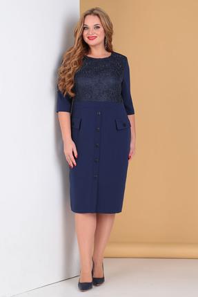 Платье Moda-Versal 2156 темно-синий