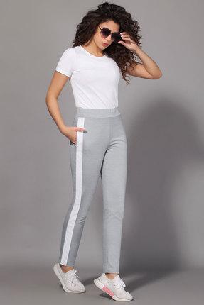 женские спортивные штаны сч@стье, серые