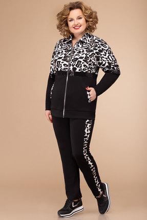 женский спортивный костюм svetlana style, черный