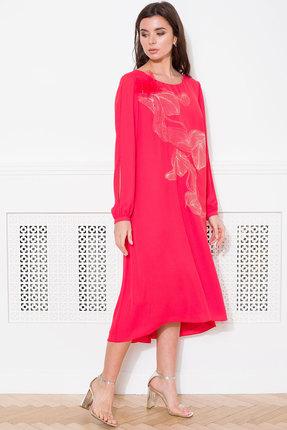 женское вечерние платье faufilure, красное