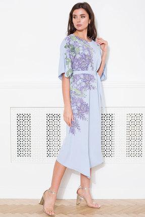 Платье Faufilure с1043 голубой